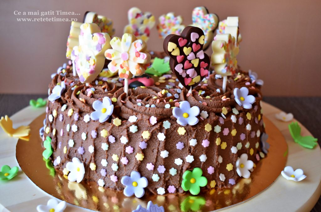 tort de ciocolata cu portocala 3