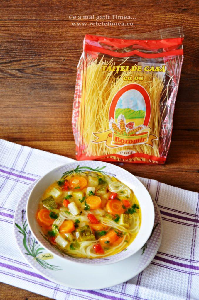 supa de legume cu taitei 2