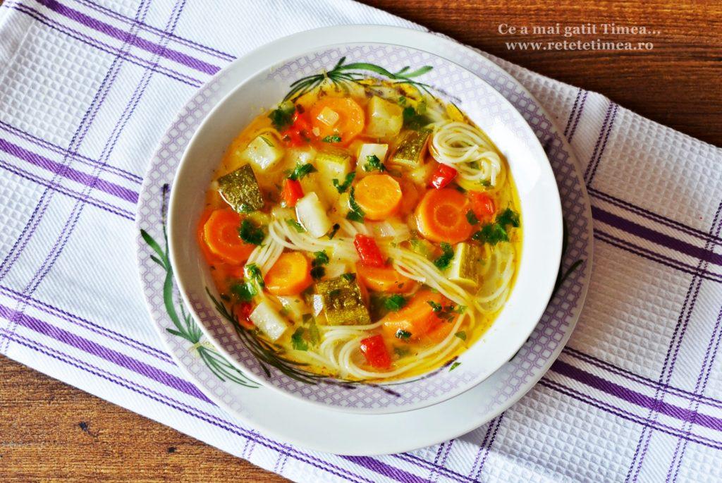 supa de legume cu taitei 3