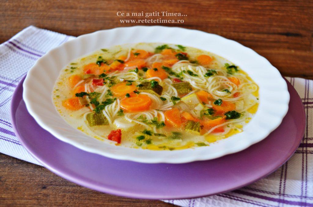 supa de legume cu taitei 4